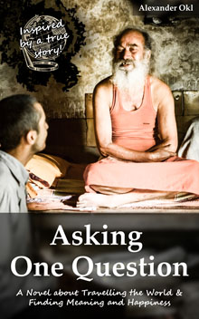 Book Cover - Asking One Question [Happiness]